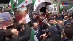 Doğu Guta'daki Şiddet İstanbul'da Protesto Edildi