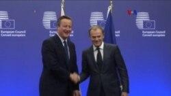Cameron pone condiciones para permanecer en la Unión Europea