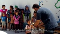 Syrian Native Smuggles Toys to Children Trapped in Aleppo