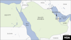 Qatar, Saudi Arabia, Egypt, Bahrain, and the UAE
