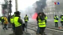 """Fransa """"sarı jilet""""lilərinin üsyanı"""