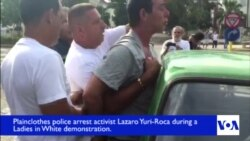VOA on the Scene: Cuban Activist Yuri-Roca Arrested