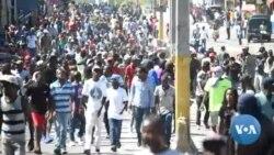 Haïti: 4e jour de manifestation pour la démission du président