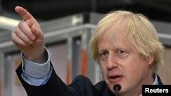 Boris Johnson, Frai Ministan Birtaniya