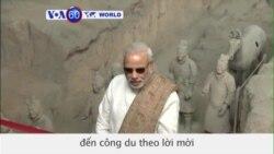 Thủ tướng Ấn Ðộ thăm TQ tìm cách thắt chặt quan hệ với Bắc Kinh (VOA60)