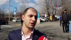 ԵՊՀ-ում ուսումասիրություն կատարող ՊՎԾ պաշտնյա Դավիթ Ադյանը հերքում է իրեն ձերբակալելու մասին լուրերը