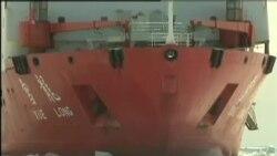 """中國破冰船""""雪龍號""""或被困南極冰面"""