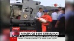 اجسادی در منطقه جستجوی هواپیمای ایرآسیا از آب گرفته شد