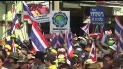 2014-01-05 美國之音視頻新聞: 泰國抗議者星期日再走上曼谷街頭