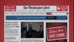 美国五大报头条新闻(2013年10月3日)