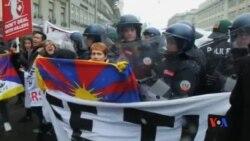 2017-01-17 美國之音視頻新聞: 藏人抱怨瑞士當局限制抗議習近平到訪