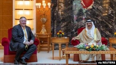 Sekretari Pompeo takohet me mbretin e Bahreinit Hamad bin Isa Al Khalifa