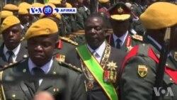 VOA60 Afirka: Shugaban Kasar Zimbabwe Emmerson Mnangagwa Ya Gabatarda Jawabin Da Halin Da Kasa Ke Ciki