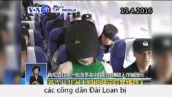 Bắc Kinh bị cáo buộc bắt cóc nhóm công dân Đài Loan (VOA60)