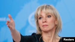 Rusiya Xarisi İşlər Nazirliyinin sözçüsü Mariya Zaxarova