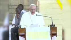 教宗访非洲呼吁关注难民