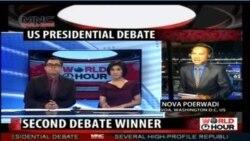 Laporan Langsung VOA untuk MNC World News: Pasca Debat Capres AS Kedua