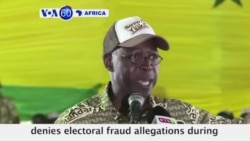 VOA60 Africa - Senegal Votes Sunday After Heated Legislative Campaign