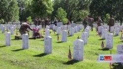 امریکائیان از نظامیان جان باختۀ خود یادبود به عمل میاورند