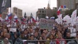 Ռուսաստանի բողոքի ակցիաների ժամանակ աճում է երիտասարդ ցուցարարների թիվը