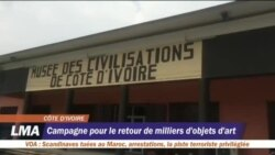 Les Ivoiriens saluent l'annonce de Macron de restituer les oeurvres d'art