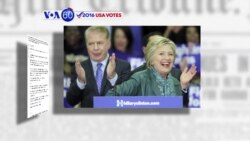 VOA60 Elections - Clinton, Trump split contests with their chief rivals
