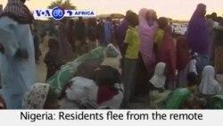 VOA60 Afirka: 'Yan Gudun Hijira Gudu Boko Haram Daga Baga, Najeriya, Janairu 9, 2015