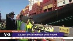 Durban, le premier port d'Afrique en rénovation