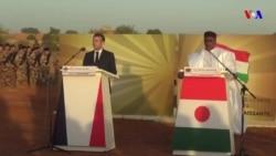 TASKAR VOA: Shugaban Kasar Faransa Emmanuel Macron ya yi tattaki har zuwa kasar Niger domin jajantawa gwamnatin bisa rashin sojojinta 71