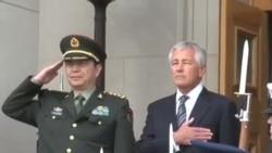 中国防长抵五角大楼访问