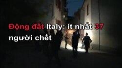 Động đất Italy: ít nhất 37 người chết