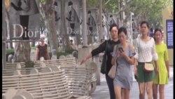 식지 않는 중국인들의 명품 사랑