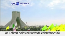 VOA60 World - Iranians Rally to Celebrate Anniversary of 1979 Revolution