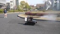 Կորոնավիրուսի դեմ պայքարի նպատակով Չինաստանում ախտահանող ռոբոտներ են փորձարկում