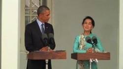 Obama Warns Myanmar Reforms Not Complete