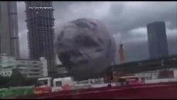 """Trung Quốc: """"Mặt trăng"""" lăn trên phố"""