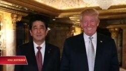 Thủ tướng Nhật Bản nói có 'rất nhiều tin tưởng' nơi ông Trump