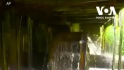 Унікальна водяна кузня на Закарпатті. Відео