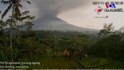 Bali'de Yanardağ Alarmı En Üst Seviyede