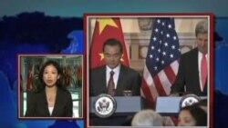VOA连线:1) 克里抵纽约 推动美在联合国三大议题 2) 三个双边会谈 奥巴马周一下午抵纽约
