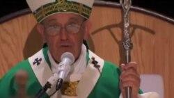 رهبر کاتولیک های جهان به فیلادلفیا رفت