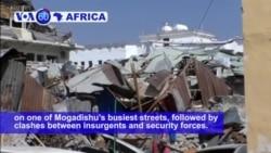VOA60 Africa - Somali Forces End Deadly Mogadishu Building Siege