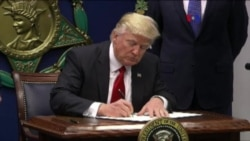 Reacciones al nuevo decreto inmigratorio de Trump