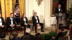 Obama on Kennedy Center Honorees