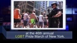 Học từ vựng qua bản tin ngắn: LGBT (VOA)