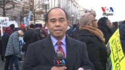 Activists Rally in Washington in March for Racial Justice