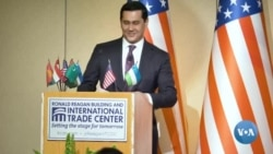 Uzbek Investment & Foreign Trade Minister speaks in Washington