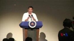 杜特尔特:菲律宾尊严不容践踏