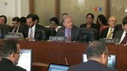 OEA rechaza tratar la crisis entre Colombia y Venezuela
