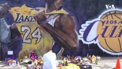 Kobe Bryantın xatirəsi üçün divar rəsmləri